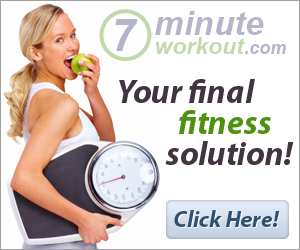 You don't have to spend a lot of time in gym; make it easy -- get on board of 7MinuteWorkout