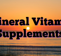 Mineral Vitamin Supplements